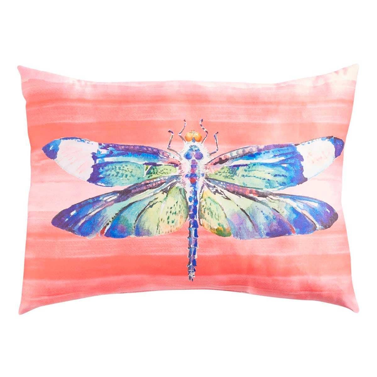 Cojín Lumbar Dragonfly On Faux Silk Pier 1 Imports