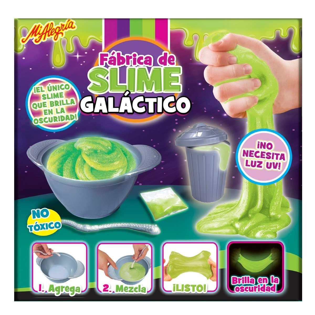 Fabrica de Slime Galactico Mi Alegria