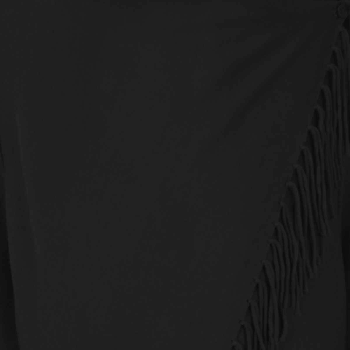 Suéter Manga Larga Abierto con Flecos Basel
