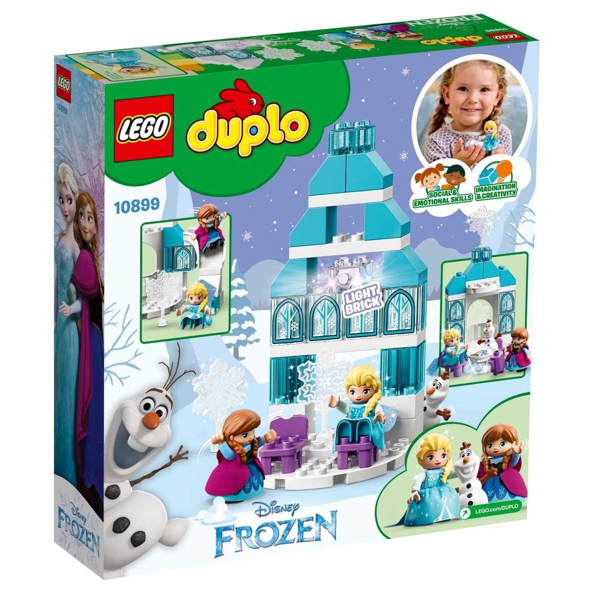 Castillo de Hielo Congelado Lego