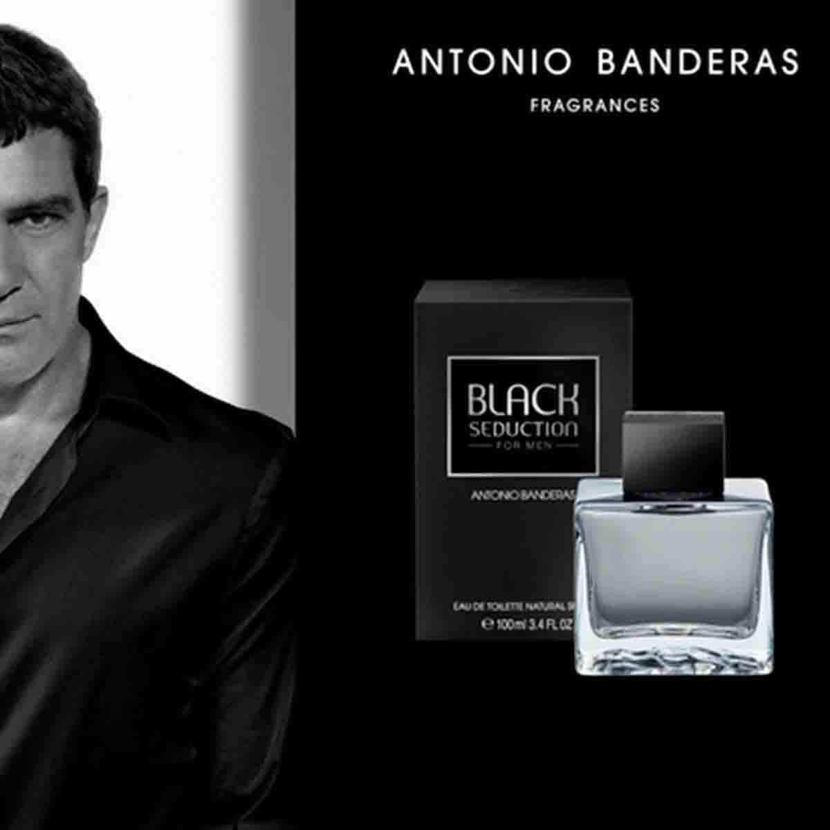 Fragancia para Caballero Antonio Banderas Black Seduction Edt 200 Ml