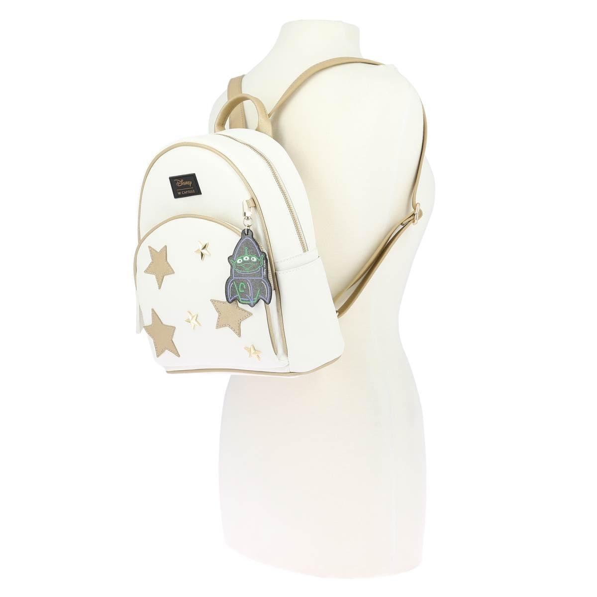 Backpack Blanco con Charm W Capsule