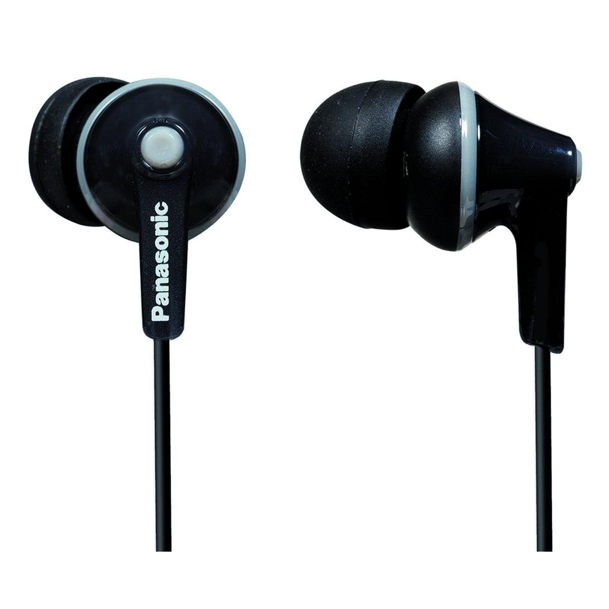 Audífonos In Ear Alámbricos Negro Panasonic