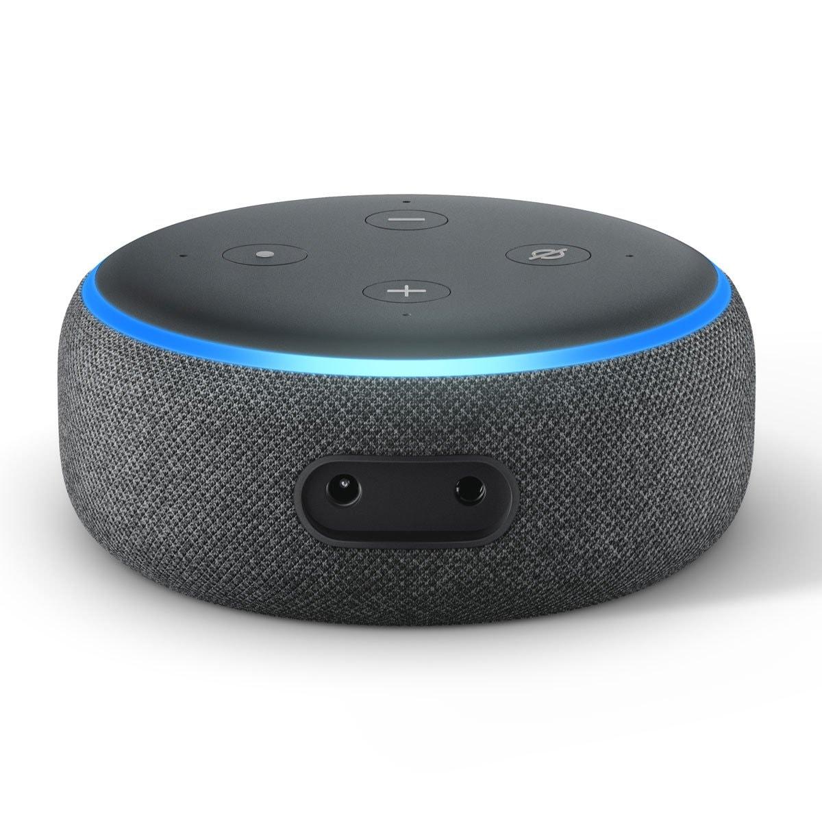Echo Dot Bocina Inteligente Negro Alexa