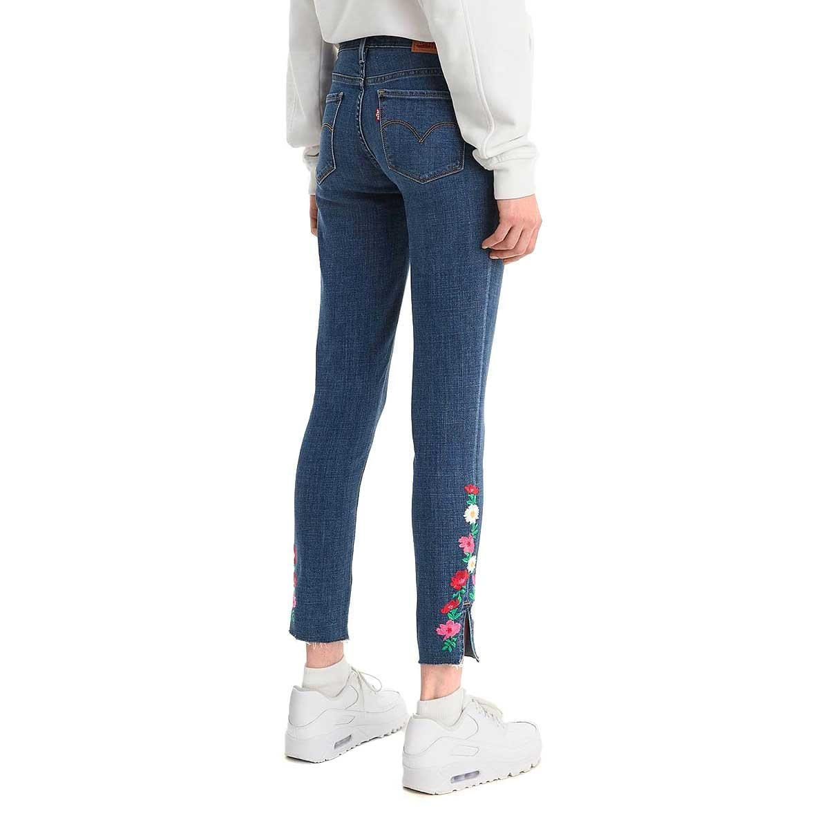 Jeans Ankle Cintura Media Levi's