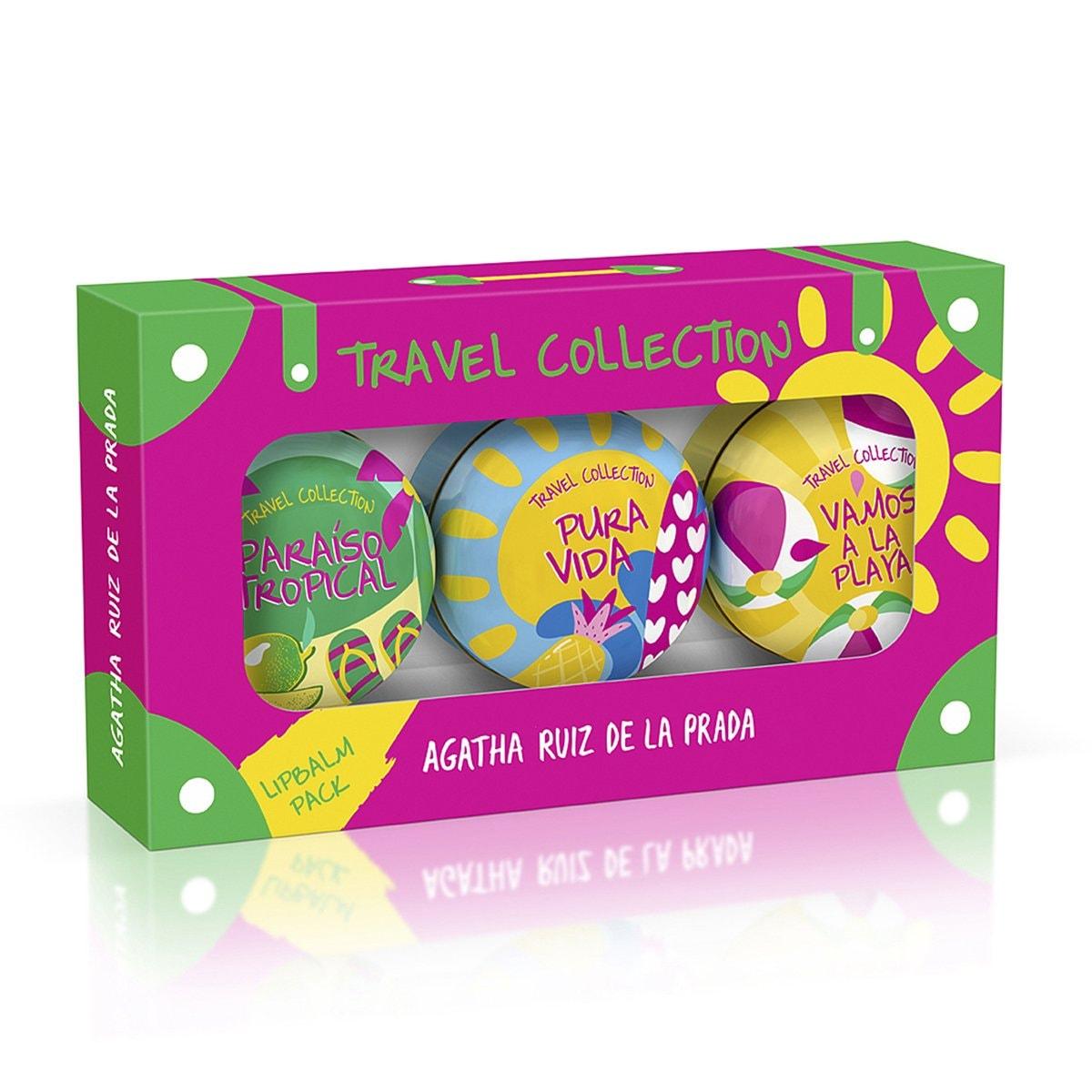Set para Dama, Agatha Ruiz de la Prada Travel Summer Lipbalms