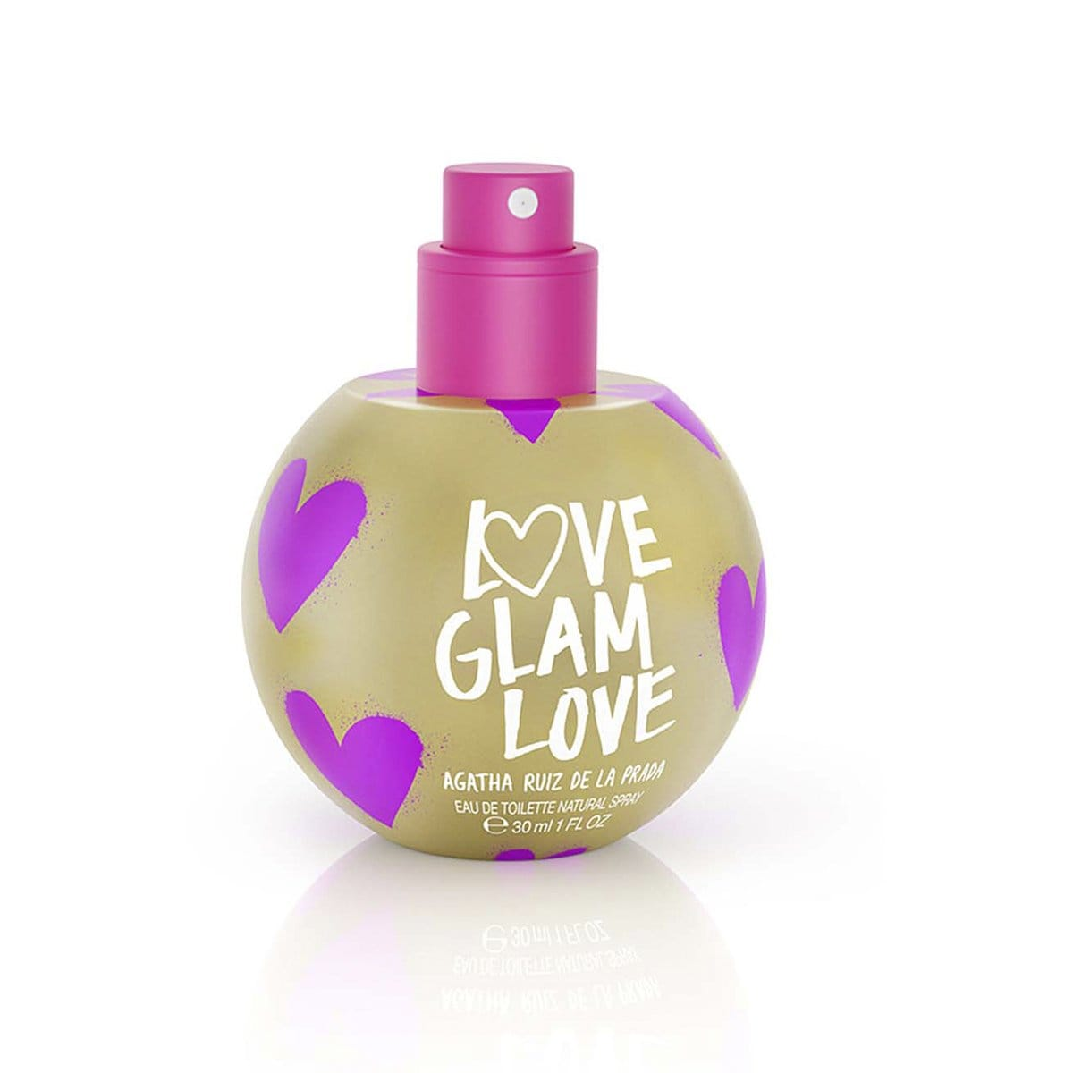Fragancia para Dama, Agatha Ruiz de la Prada Love Glam Love Bubble Edt 30Ml