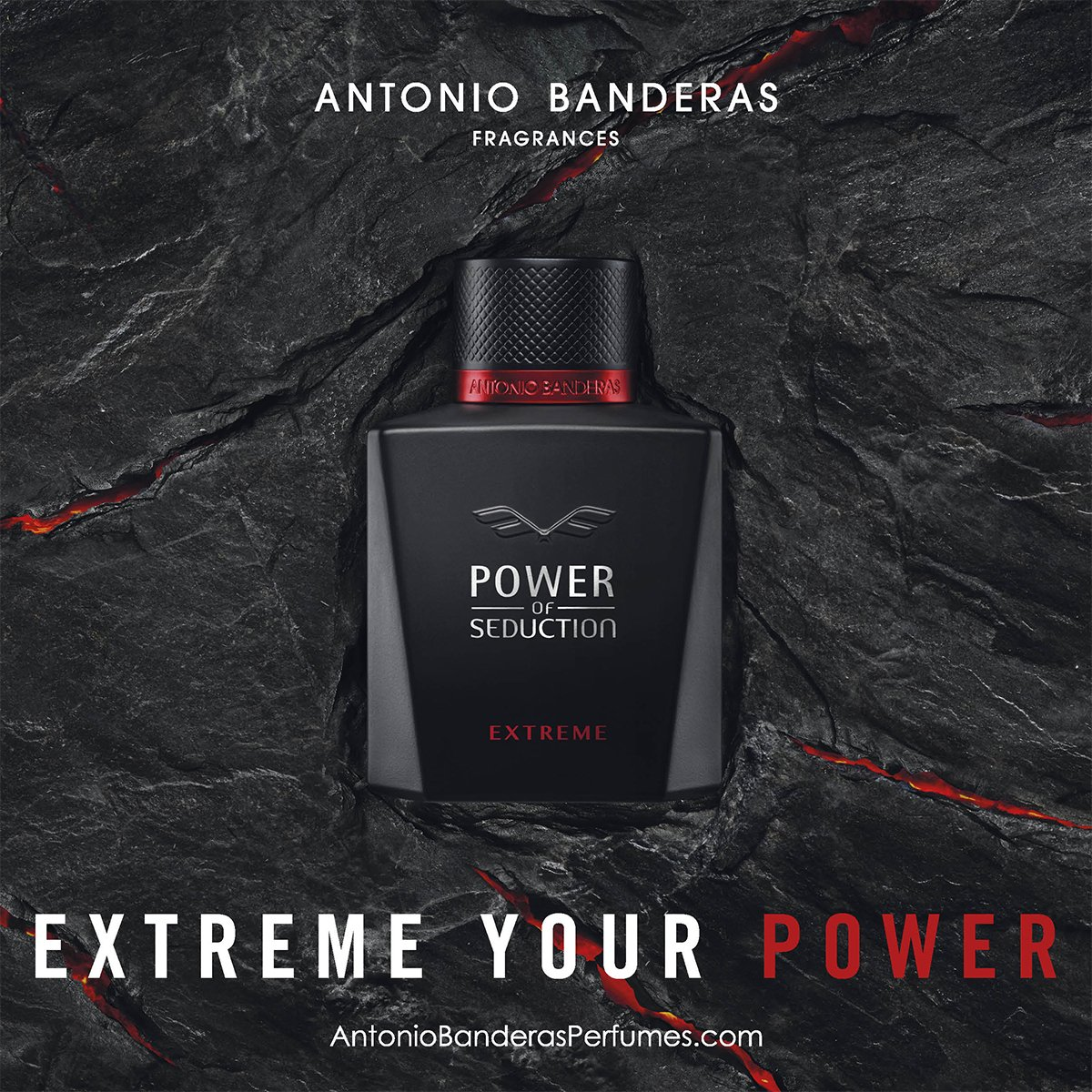 Fragancia para Caballero, Antonio Banderas Power Of Seduction Extreme Edt 100 Ml