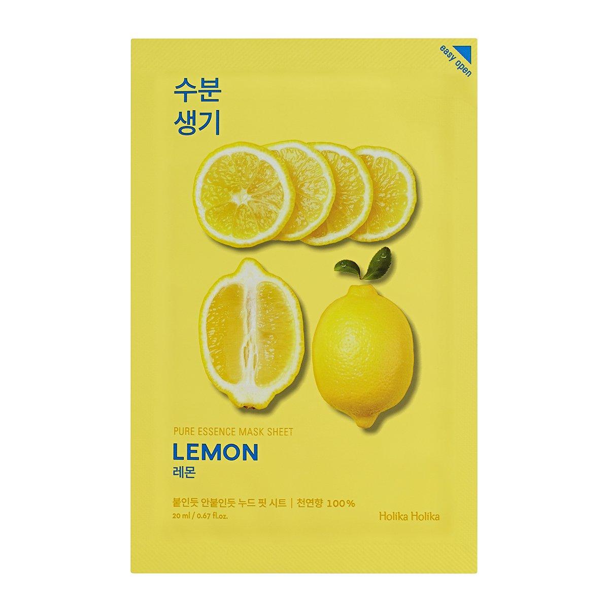 Mascarilla Reparadora Holika Holika Pure Essence Limón