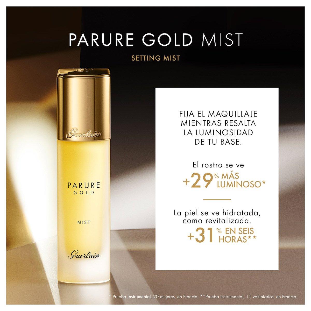 Bruma Fijadora de Maquillaje Guerlain Parure Gold Mist 30 Ml