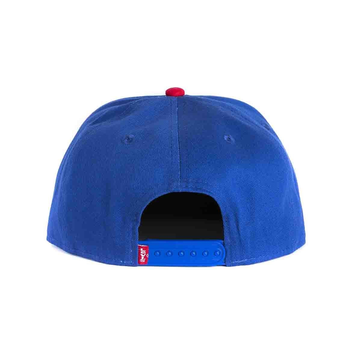 Gorra Color Azul Combinado Levi's