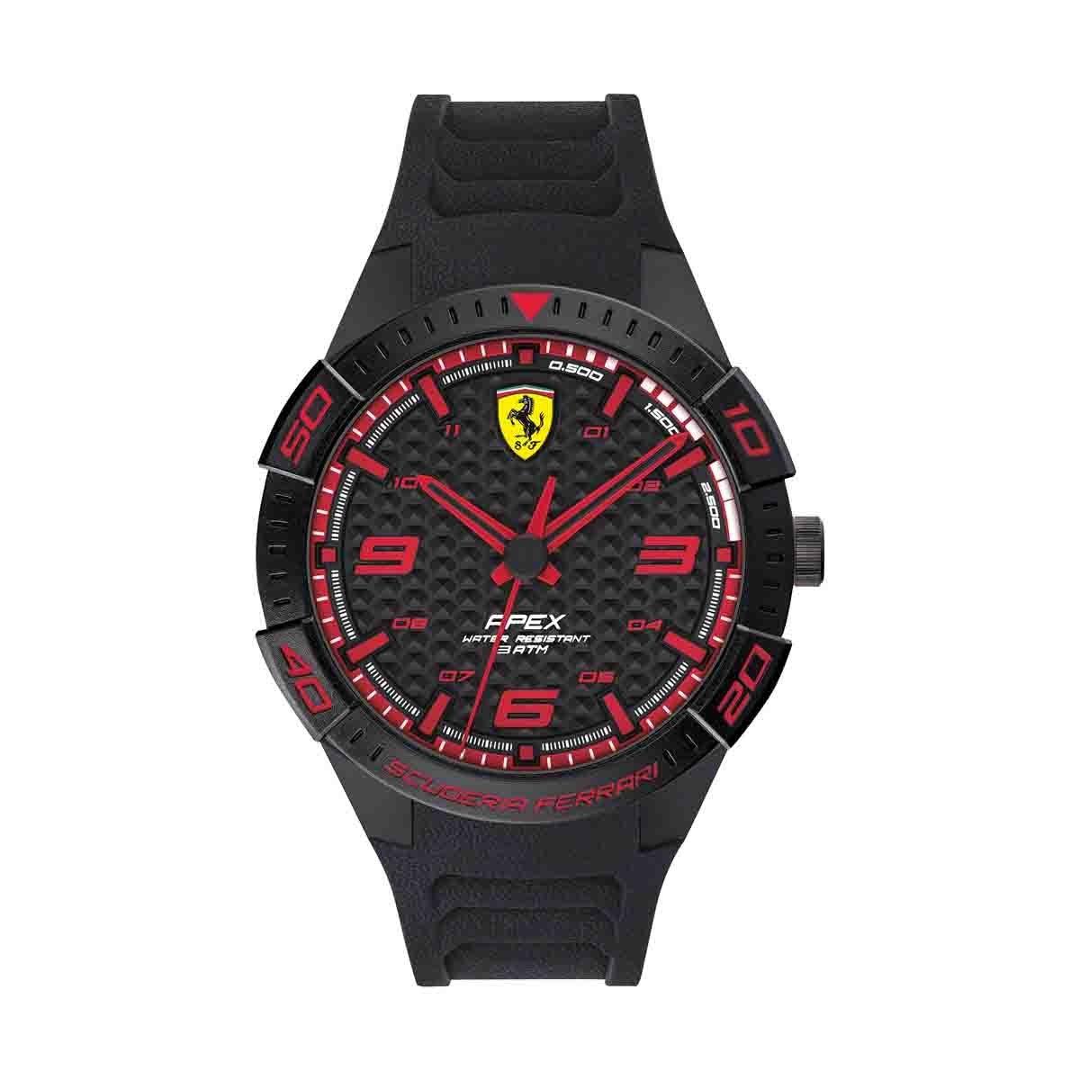 Reloj para Caballero Color Negro Ferrari