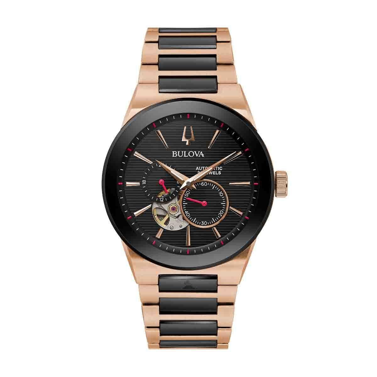 Reloj para Caballero Color Negro Bulova