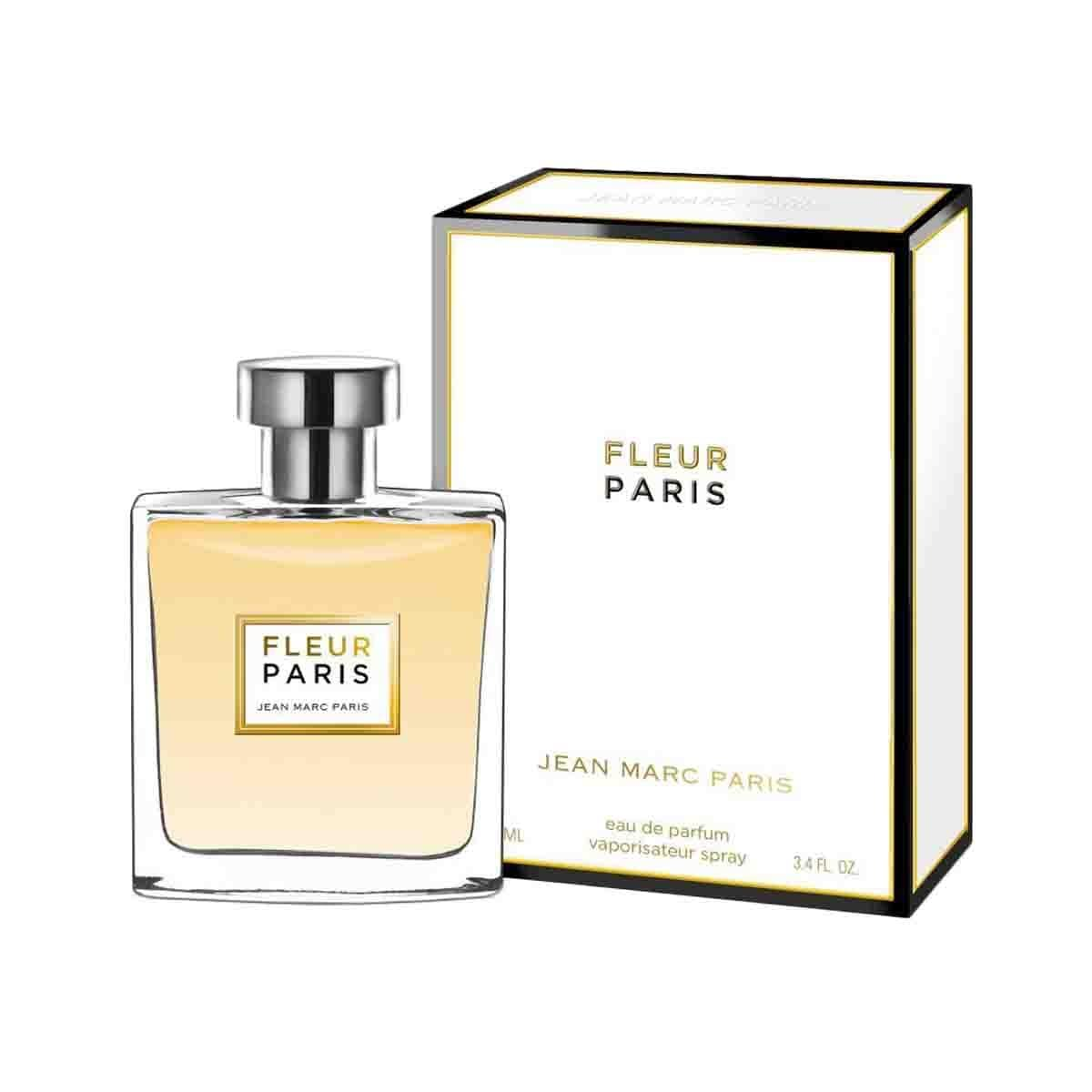 Fragancia para Dama Jean Marc Paris Fleur Paris Edt 100 Ml