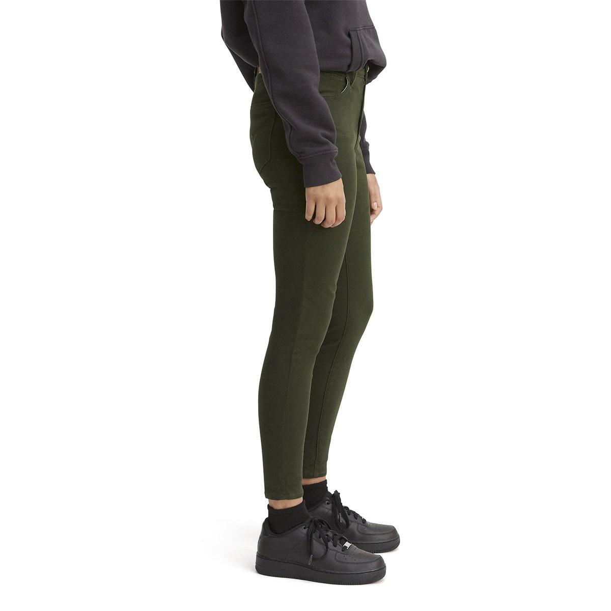 Jeans Súper Skinny Cintura Alta Levis