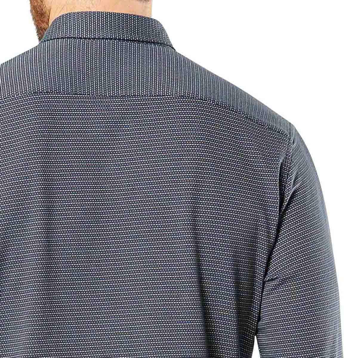 Camisa Manga Larga Vestir Fitted 360 Dockers