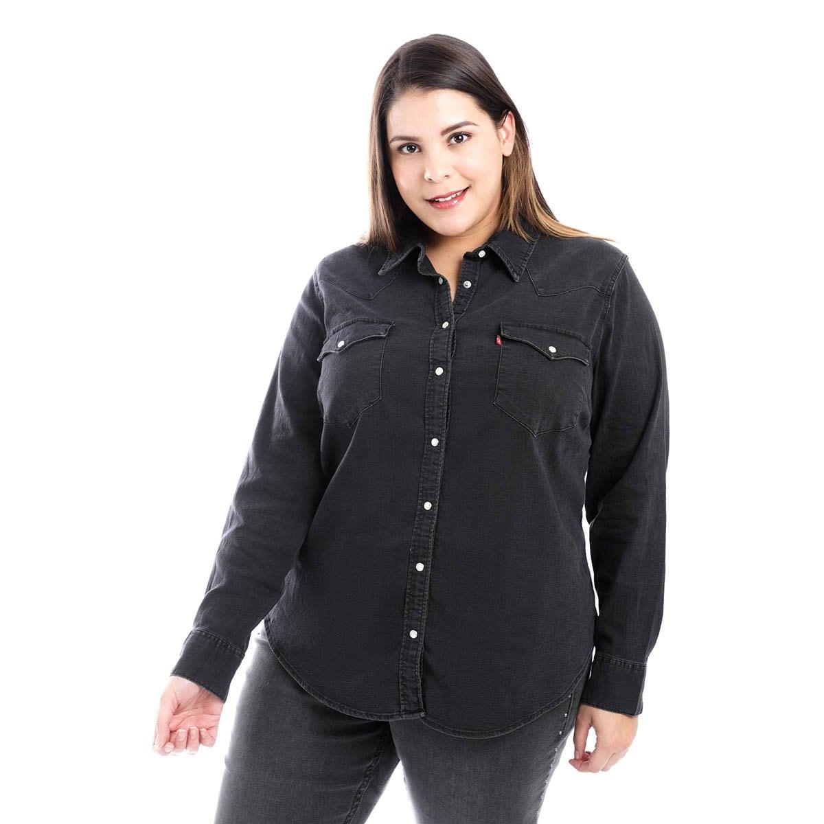 Camisa para Dama de Mezclilla Manga Larga Levis