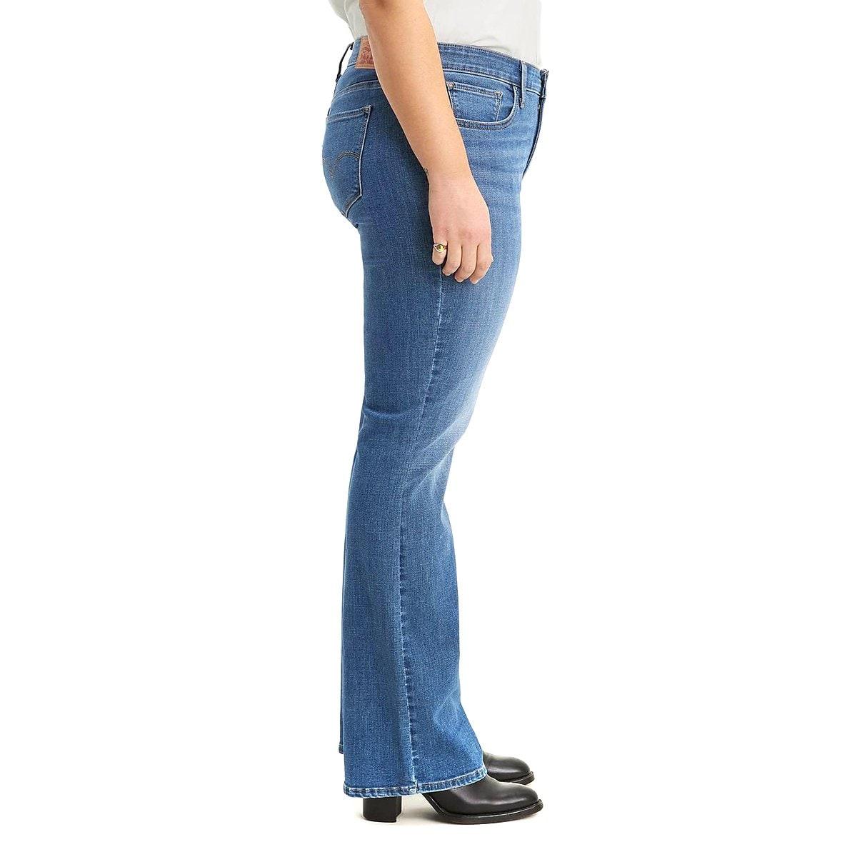Jeans Bota Cintura Media Levis