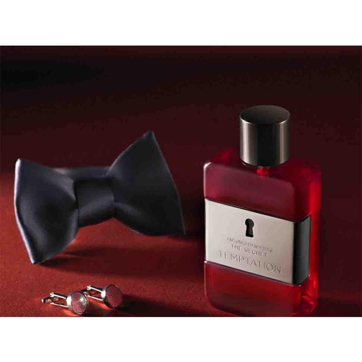 Estuche para Caballero Antonio Banderas The Secret Temptation Edt 100 Ml + After Shave 75 Ml