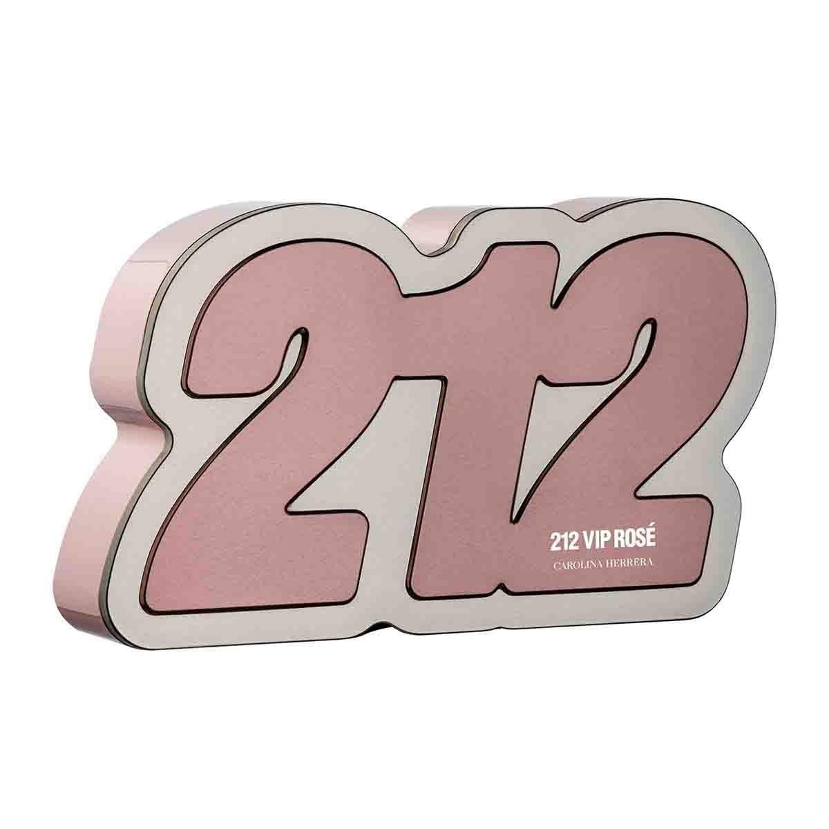 Estuche para Dama Carolina Herrera 212 Vip Rosé Edp 80 Ml + Body Lotion 100 Ml