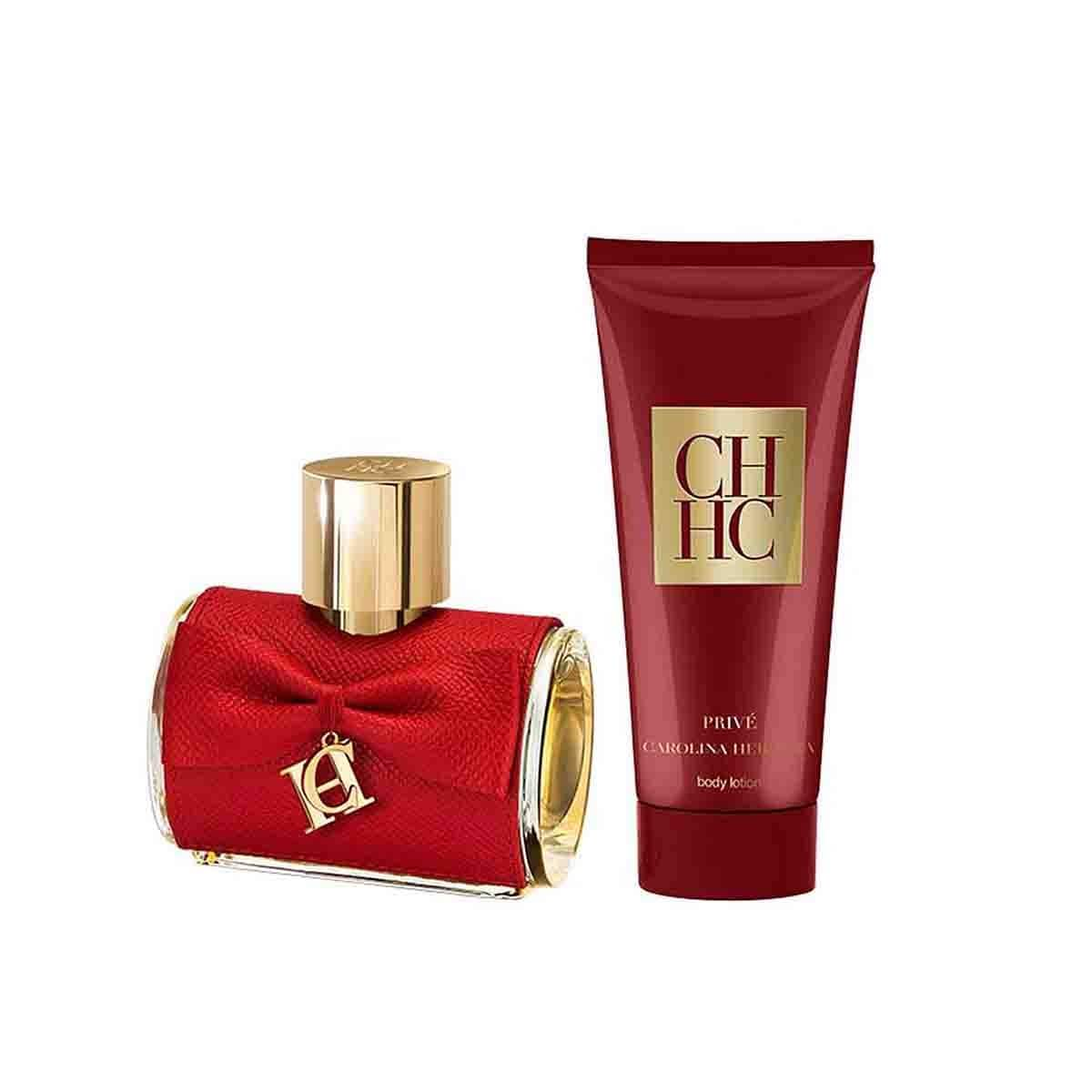 Estuche para Dama Carolina Herrera Ch Privée Edp 80 Ml + Body Lotion 100 Ml