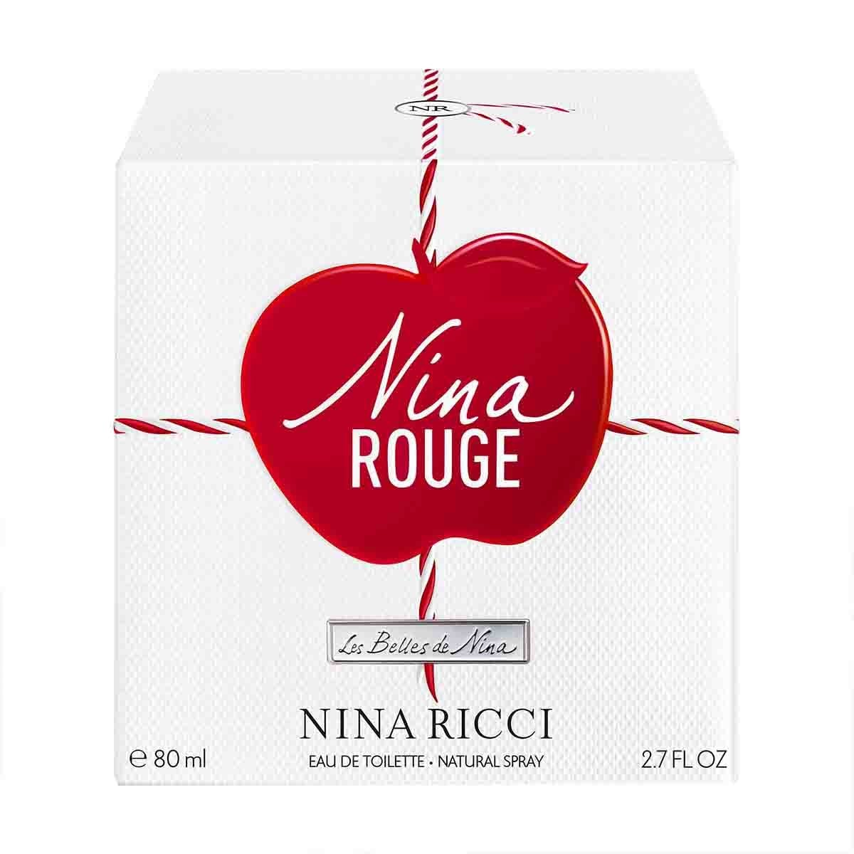 Fragancia para Dama Nina Ricci Nina Rouge Edt 80 Ml