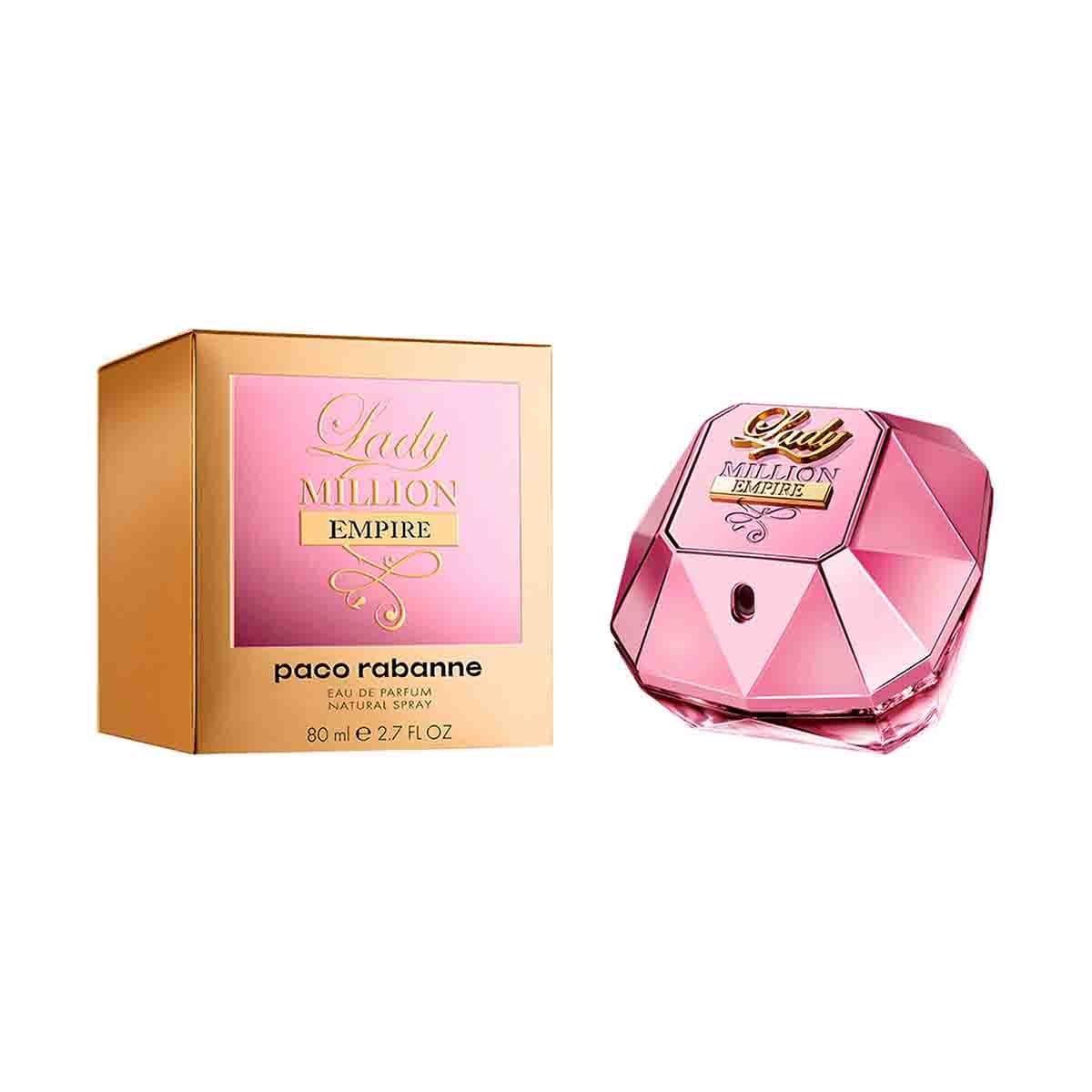 Fragancia para Dama Paco Rabanne Lady Million Empire Edp 80 Ml