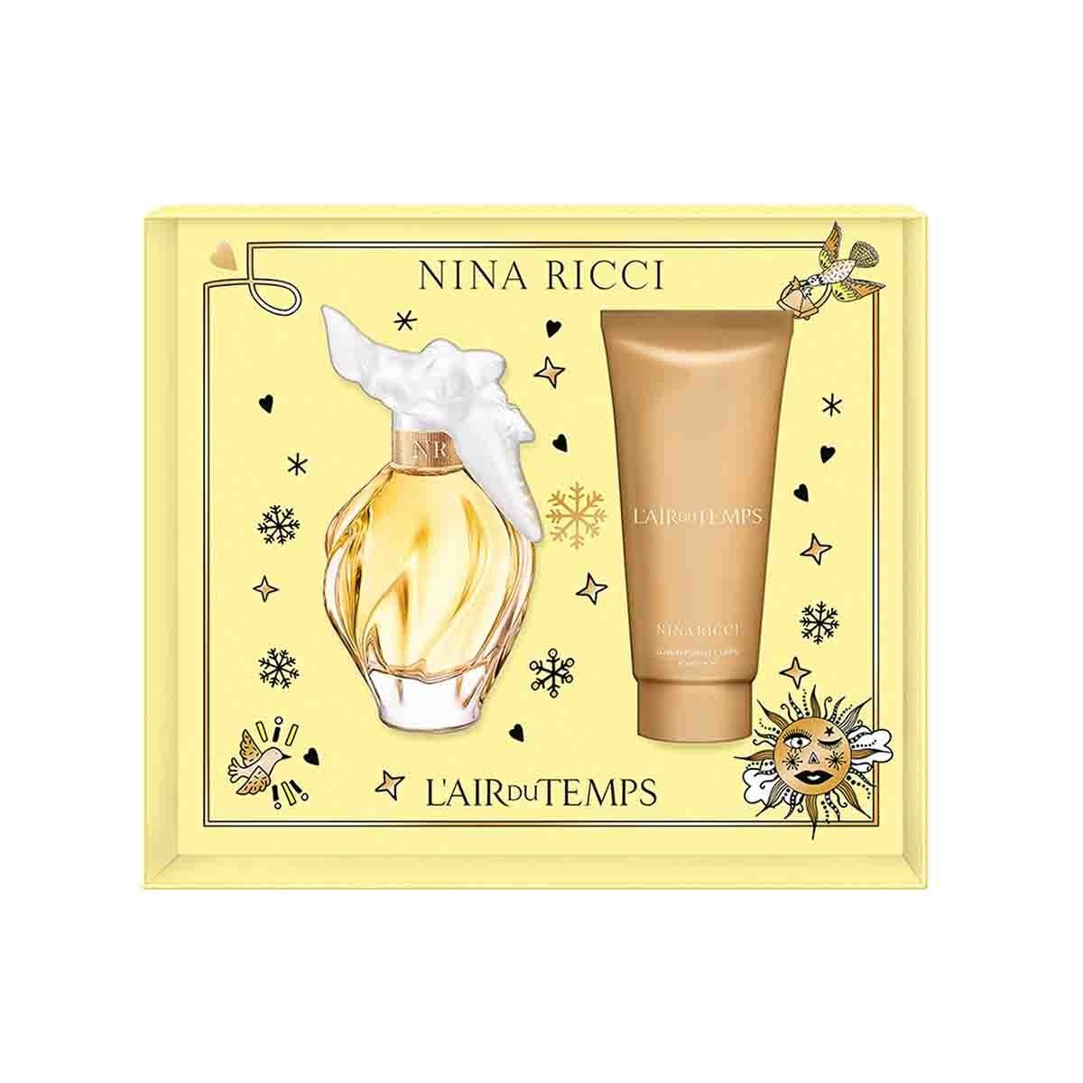 Estuche para Dama Nina Ricci Air Du Temps Edt 100 Ml + Body Lotion 100 Ml
