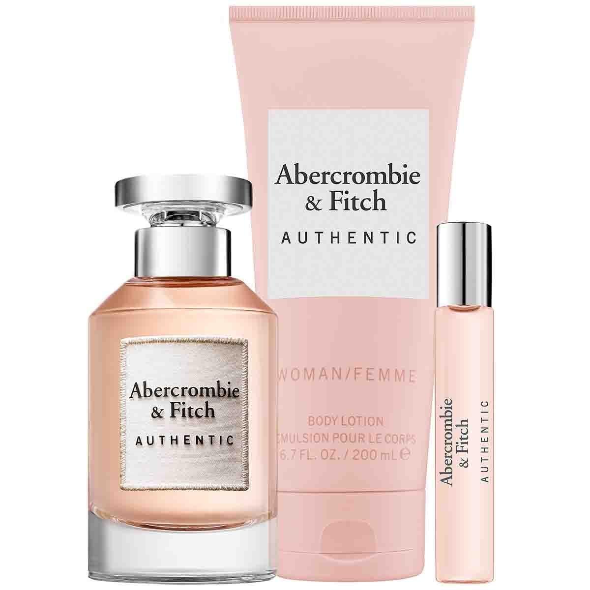 Estuche para Dama Abercrombie & Fitch Authentic Edp 100 Ml