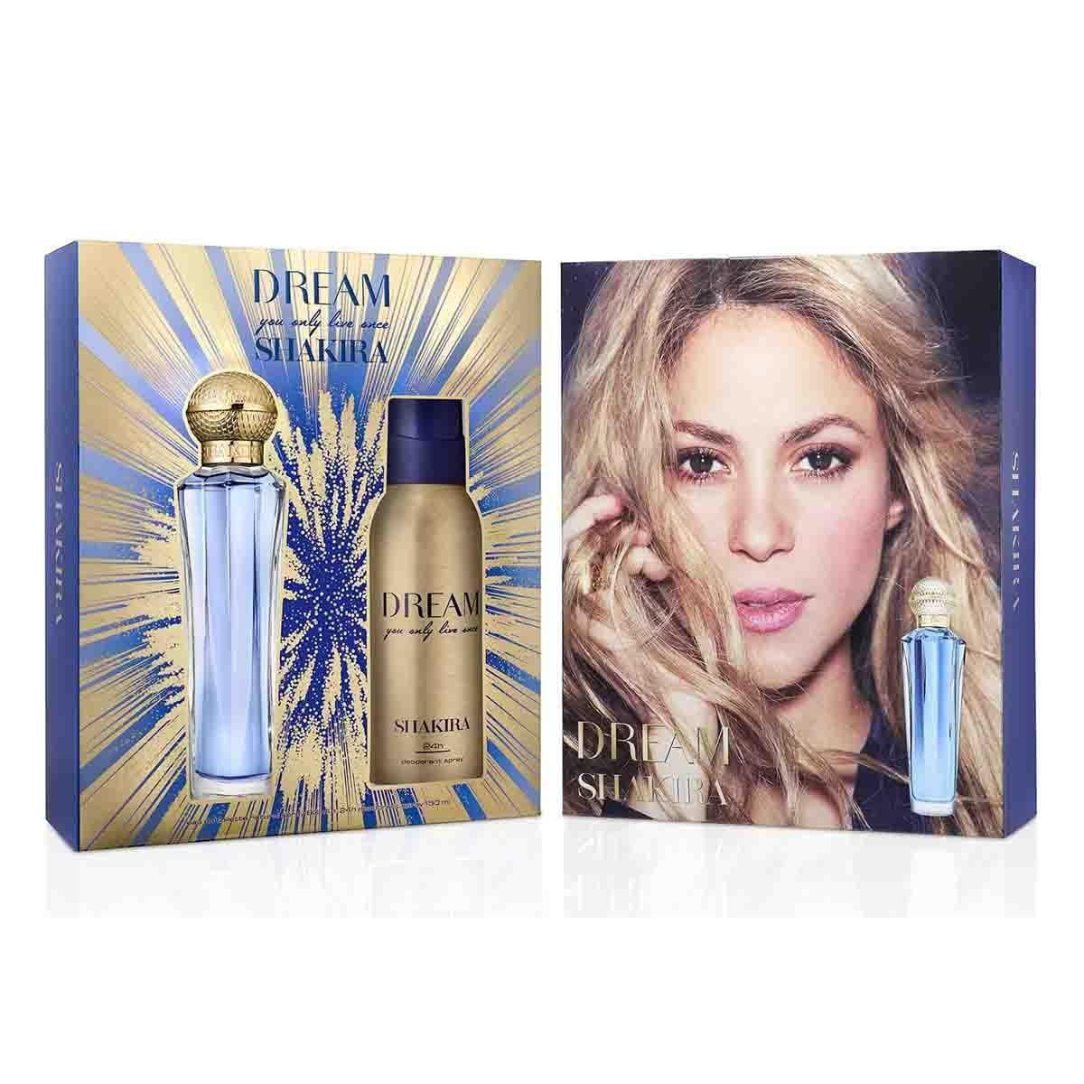 Estuche para Dama Shakira Dream Edt 80 Ml + Desodorante 150 Ml