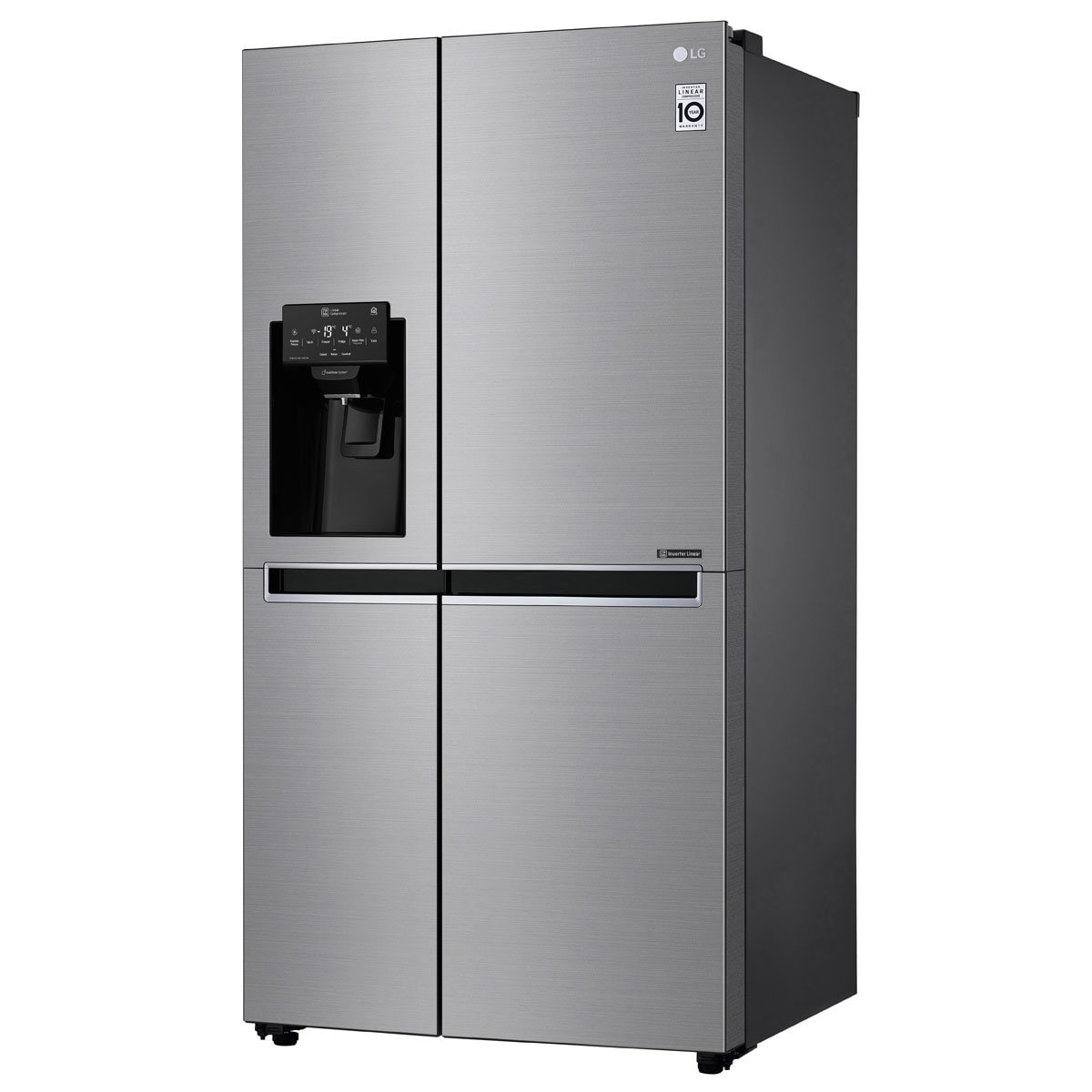 Refrigerador Duplex Silver 26 Pies Lg