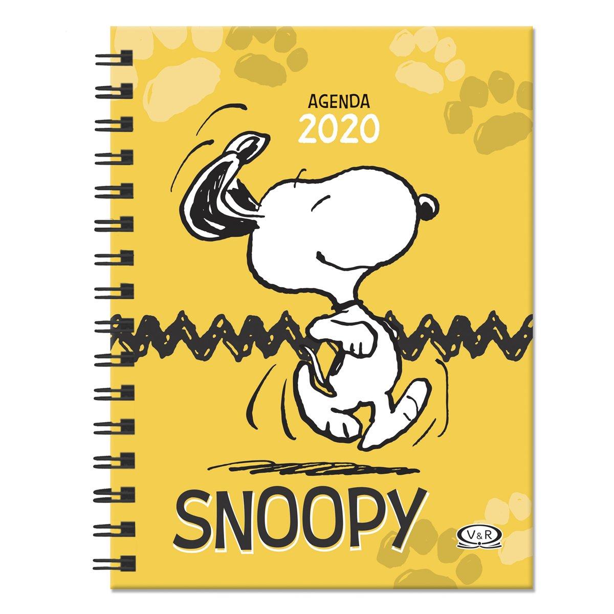 Snoopy Agenda 2020 Vergara & Riba