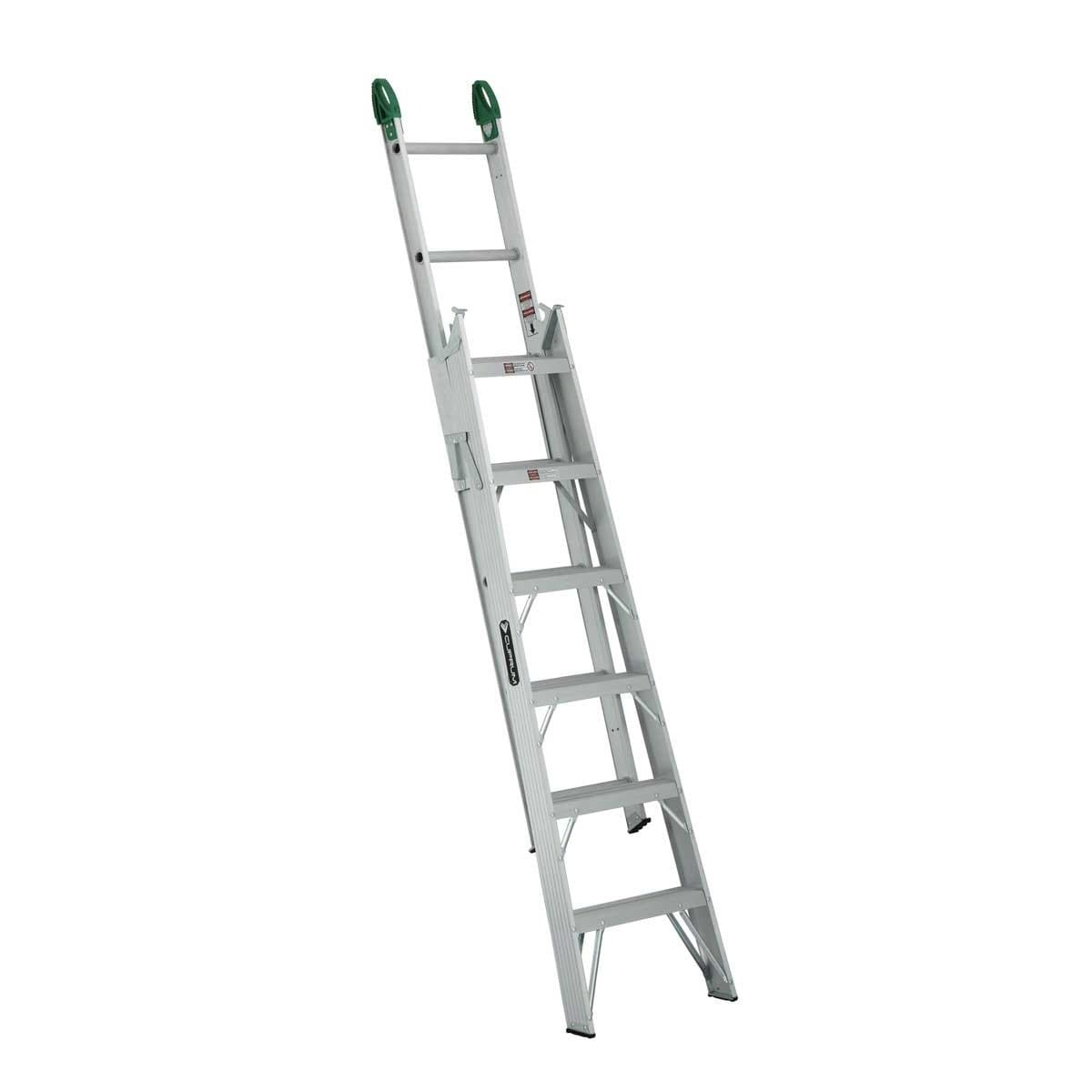Escalera Convertible de Aluminio (13 Escalones) Cuprum C-2287-13