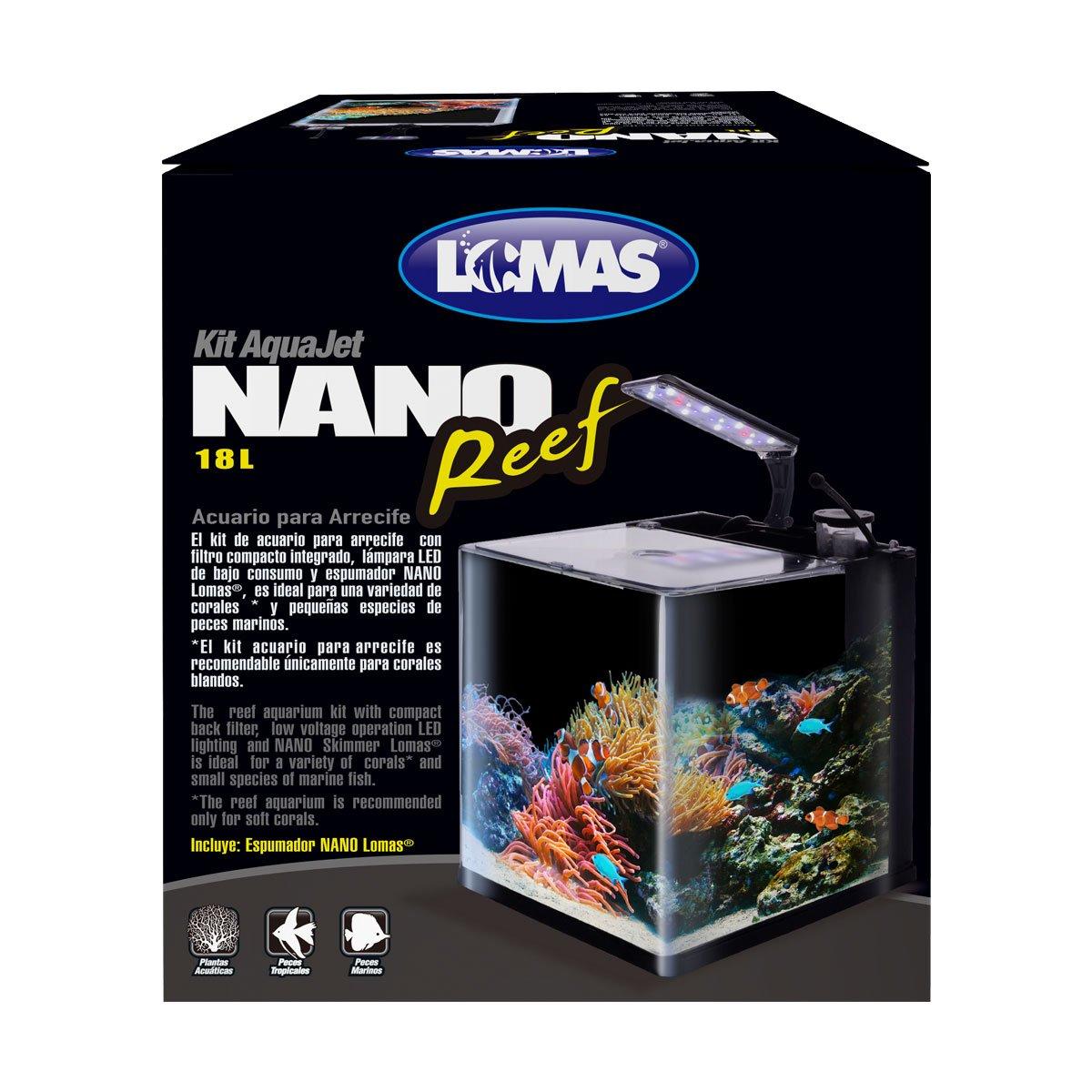 Acuario Nano Reef de 18 Lt Acuario Lomas