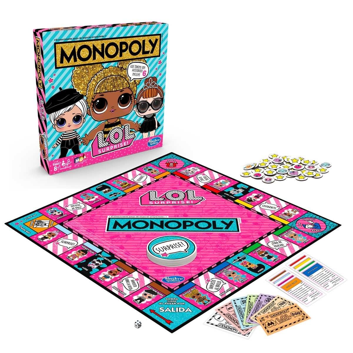 Juego de Mesa Monopoly Lol Hasbro