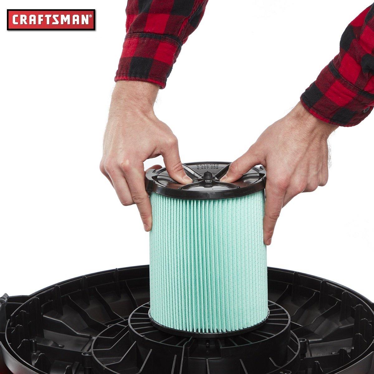 Filtro para Aspiradora- Alérgenos- Verde Craftsman