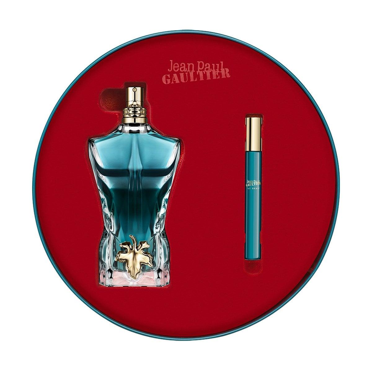 Estuche para Caballero Jean Paul Gaultier Le Beau Edt 125 Ml + Travel Spray 10 Ml