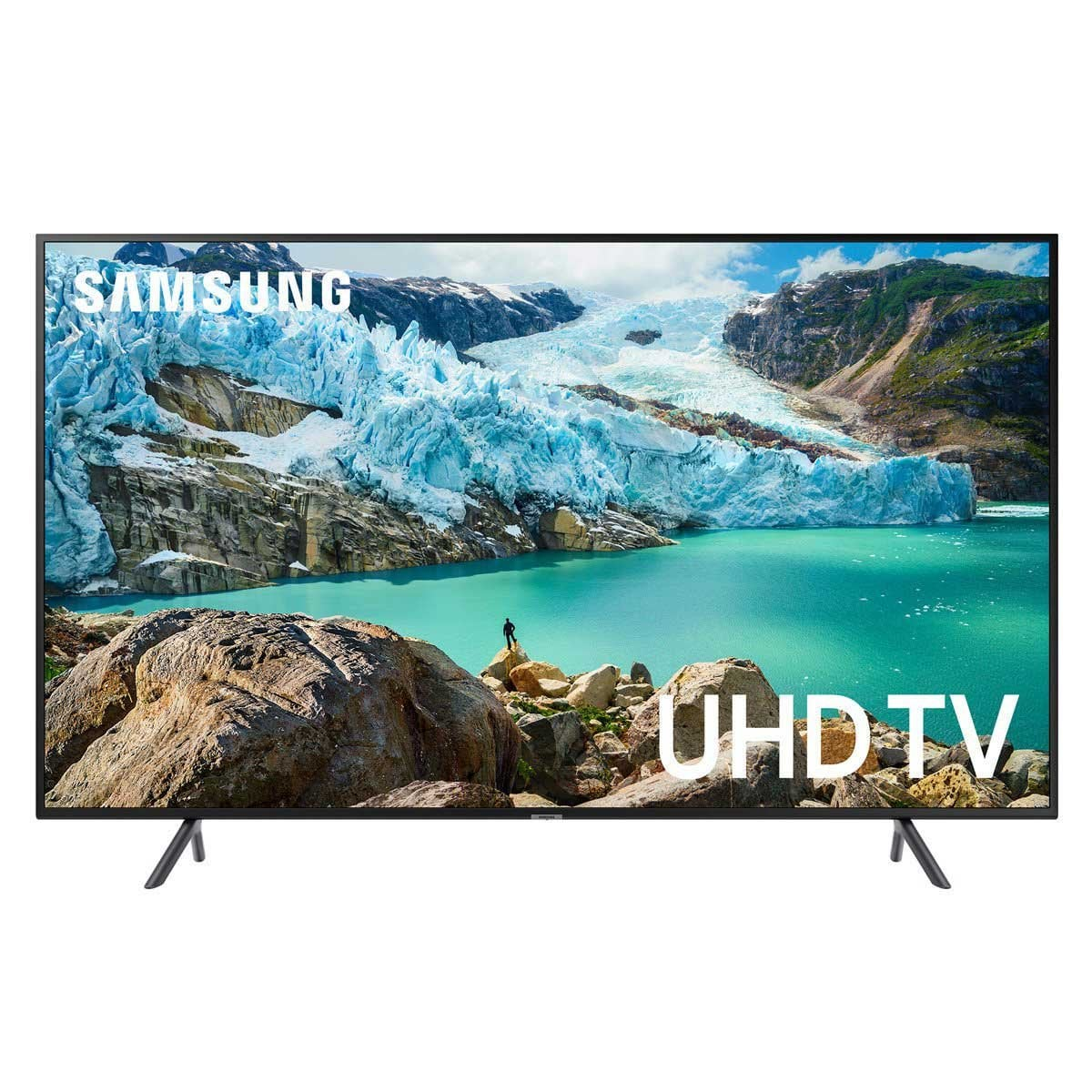 "Pantalla Led 43"" Samsung 4K Uhd Flat Un43Ru7100Fxzx"