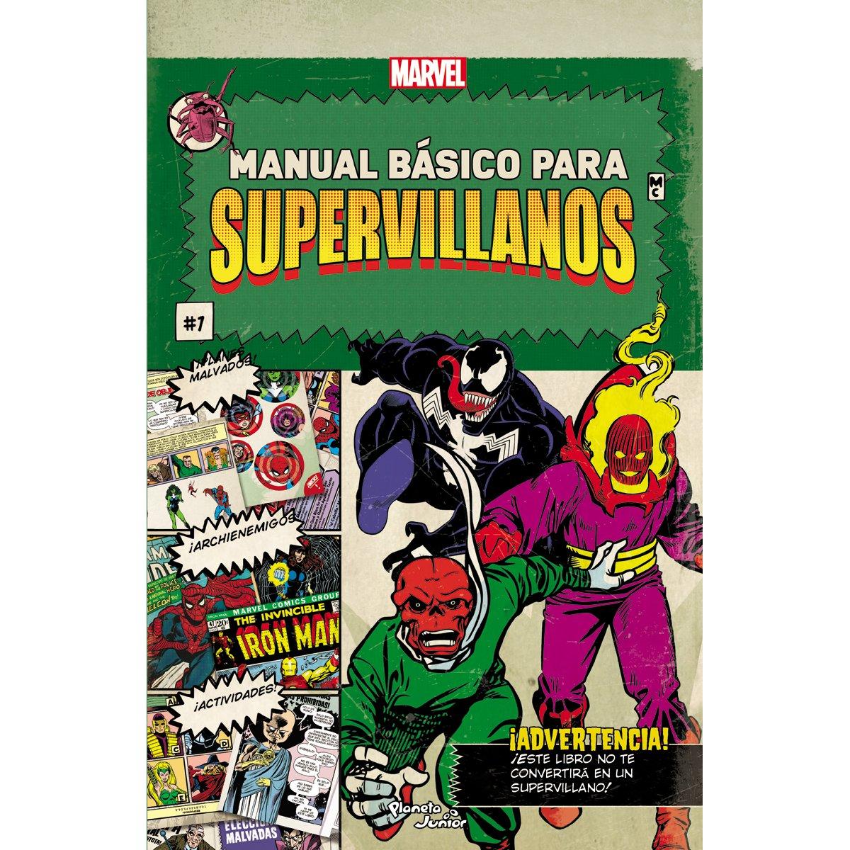 Manual Básico para Supervillanos Planeta Junior