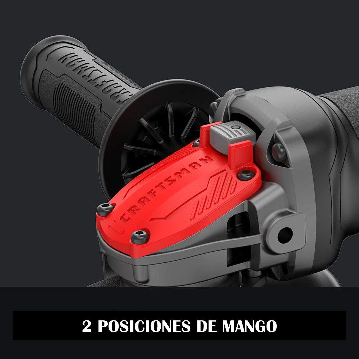 Esmeriladora Angular de 41/2 Pulgadas 7.5 Amperes Switch de Paleta Craftsman