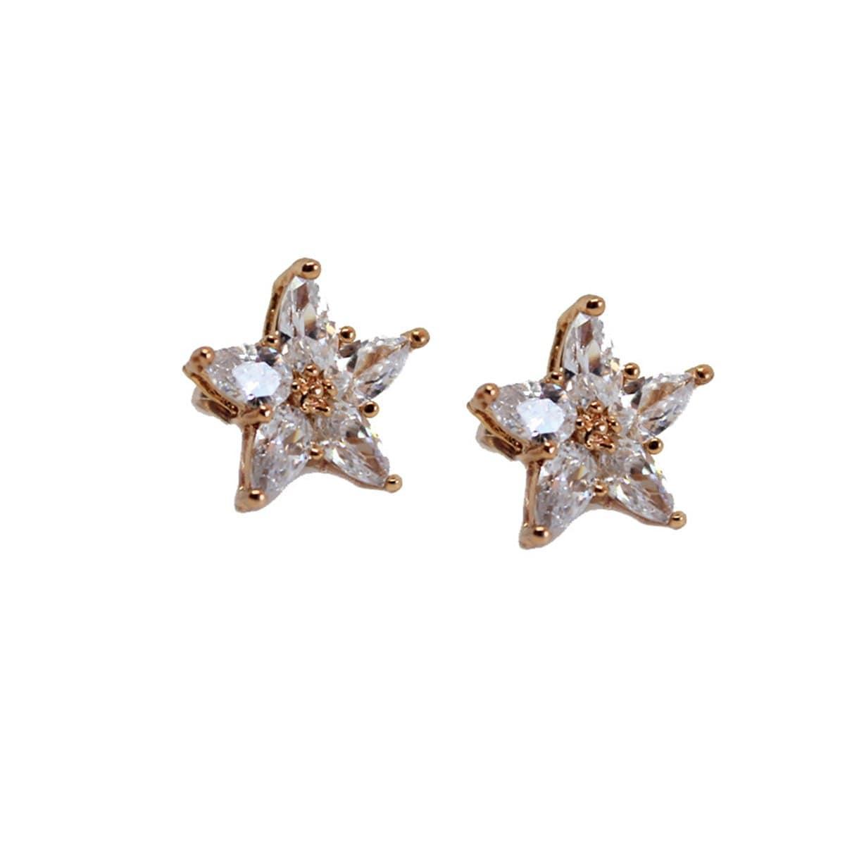 Broquel Estrella con Cristales. Oro Angelus