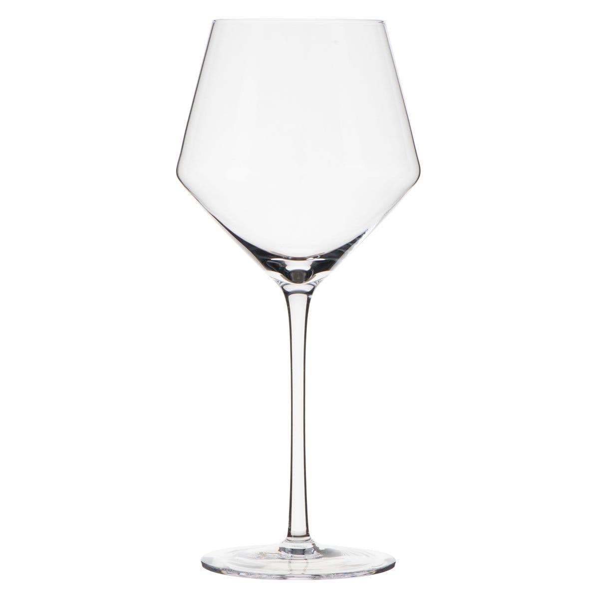 Set 4 Copas Vino Tinto Transparente Samyo