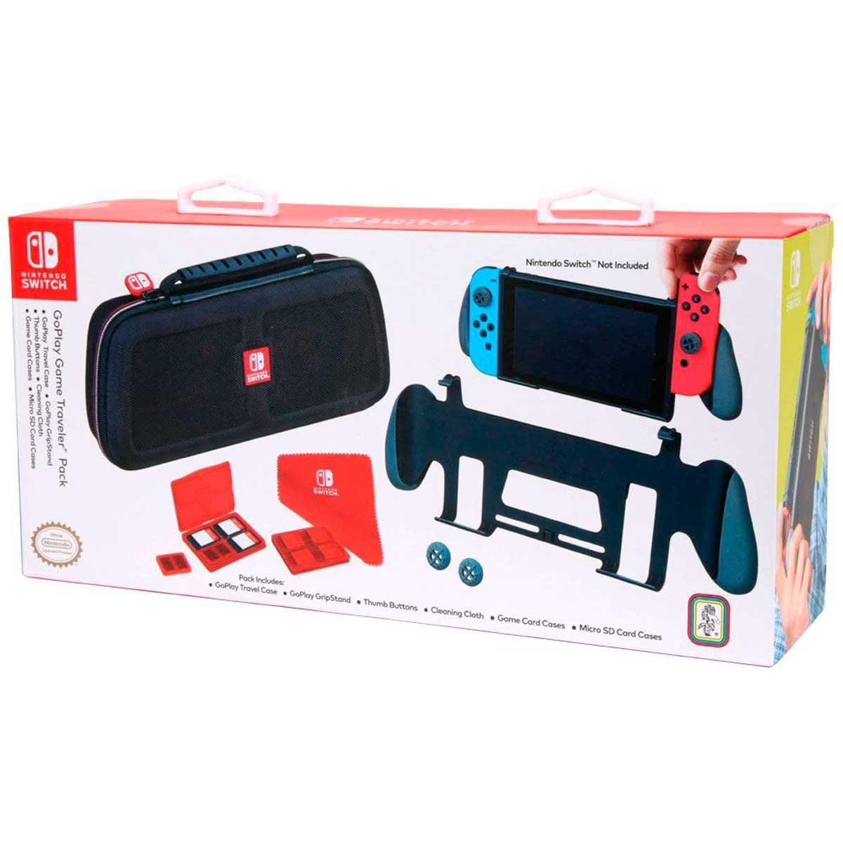 Nintendo Switch Kit Estuche de Viaje Nintendo Switch