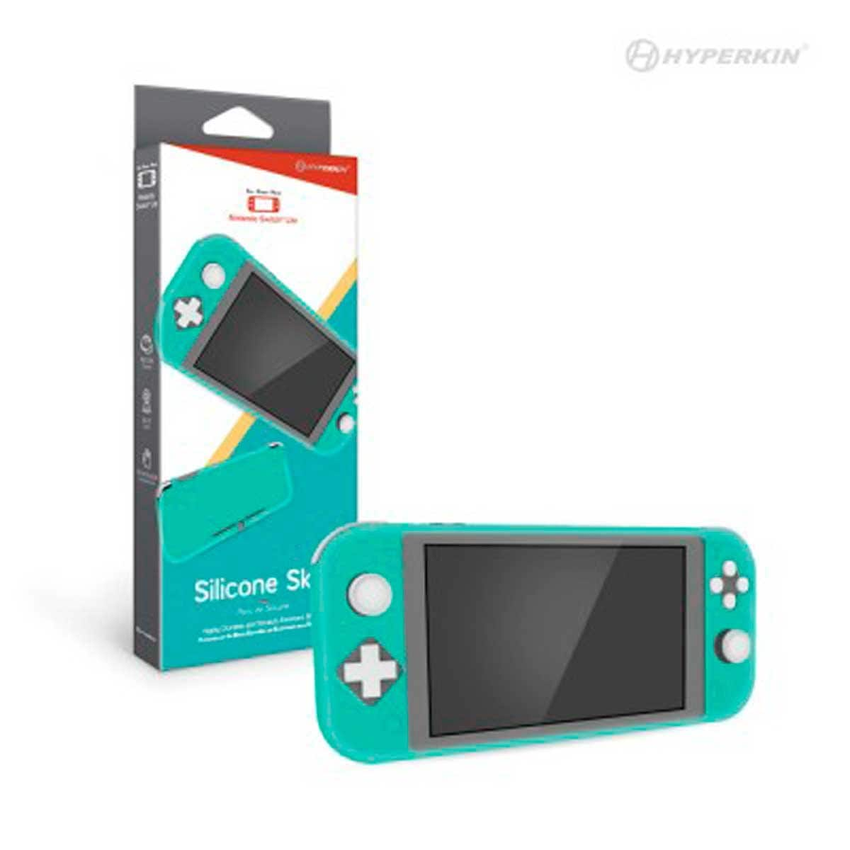 Protector de Silicón Turquesa  Nintendo Switch