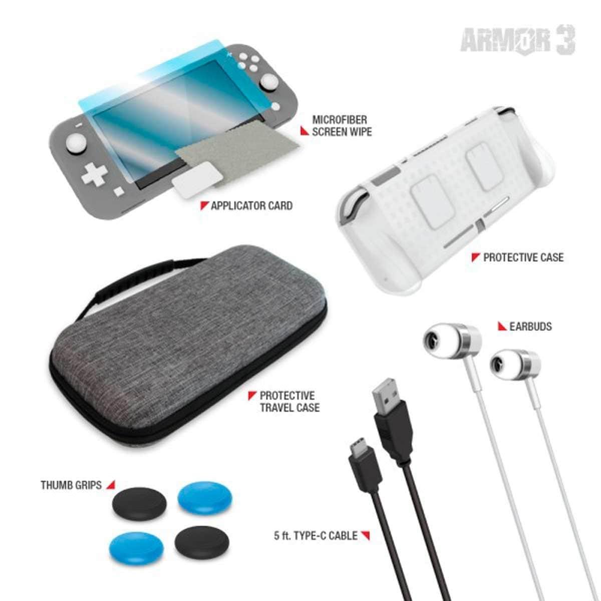 Kit Protector de Viaje Armor 3 Nintendo Switch