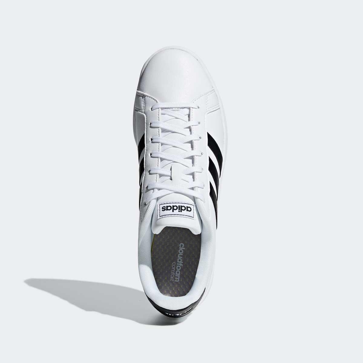 Tenis Casual Grand Court Blanco Adidas - Caballero