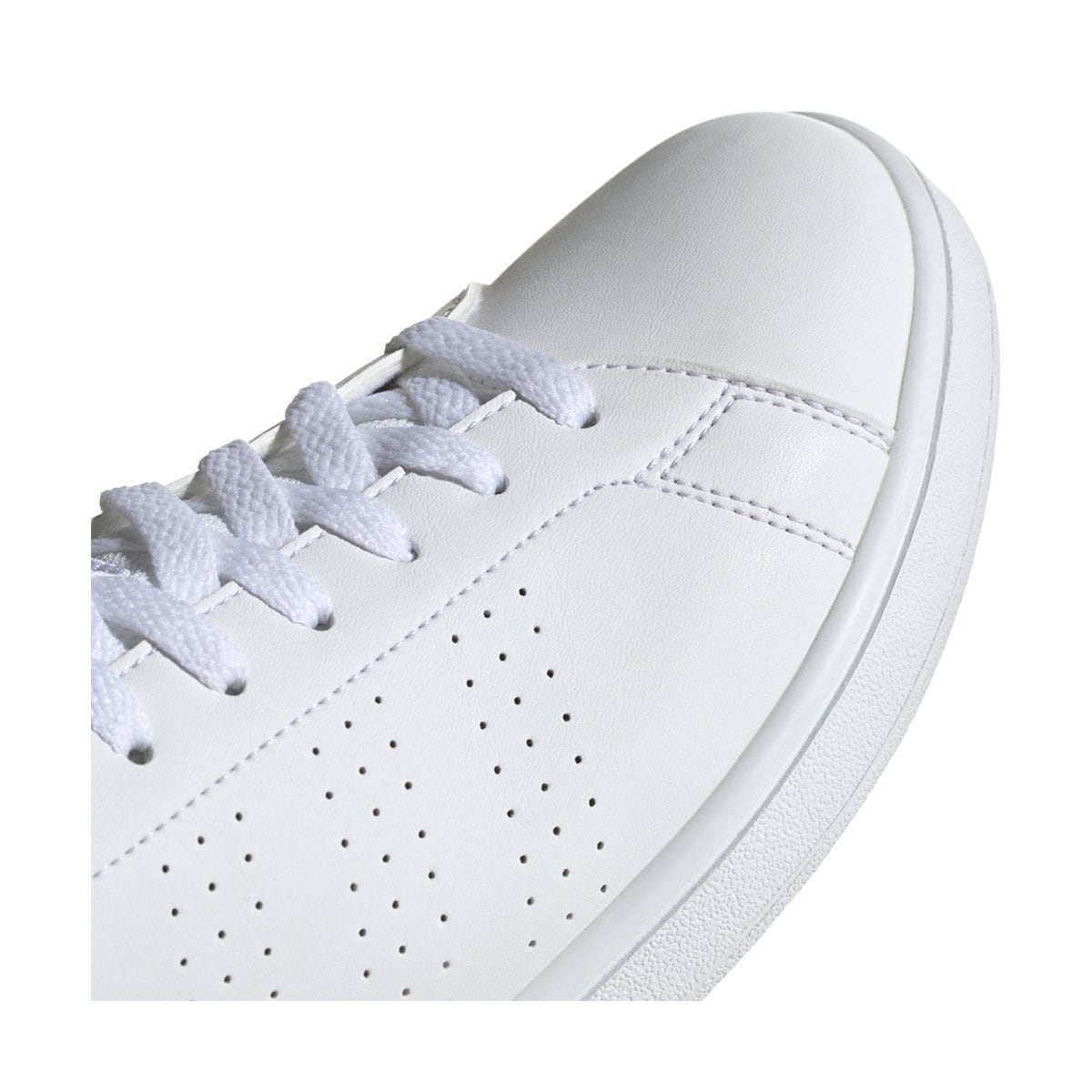Tenis Casual Advantage  Blanco Adidas - Caballero