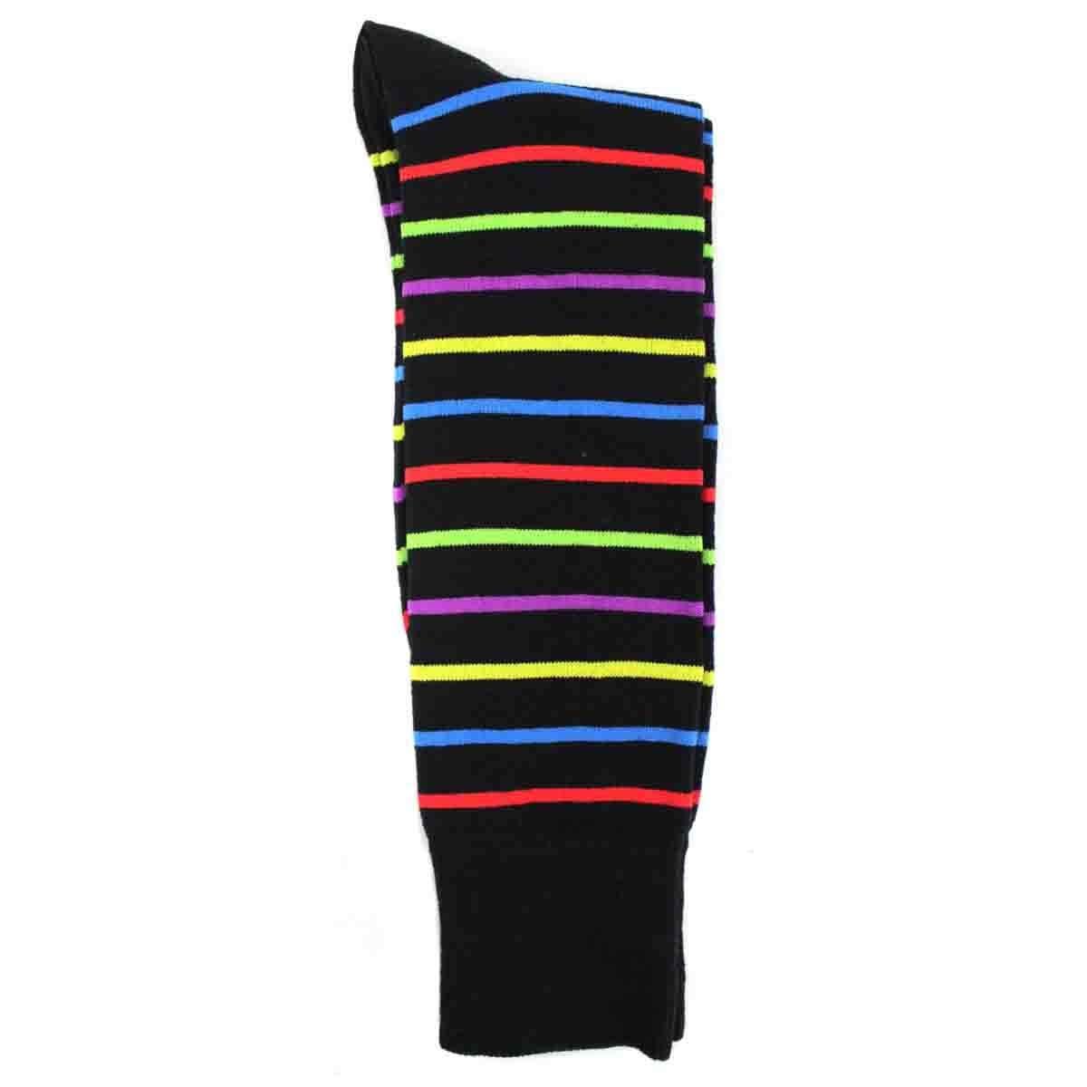 Calcetín de Vestir para Caballero Negro Pierre Cardin