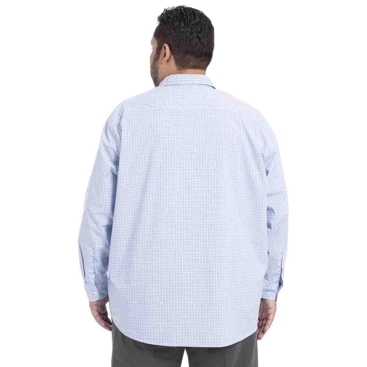 Camisa Manga Larga Azul B&t Dockers