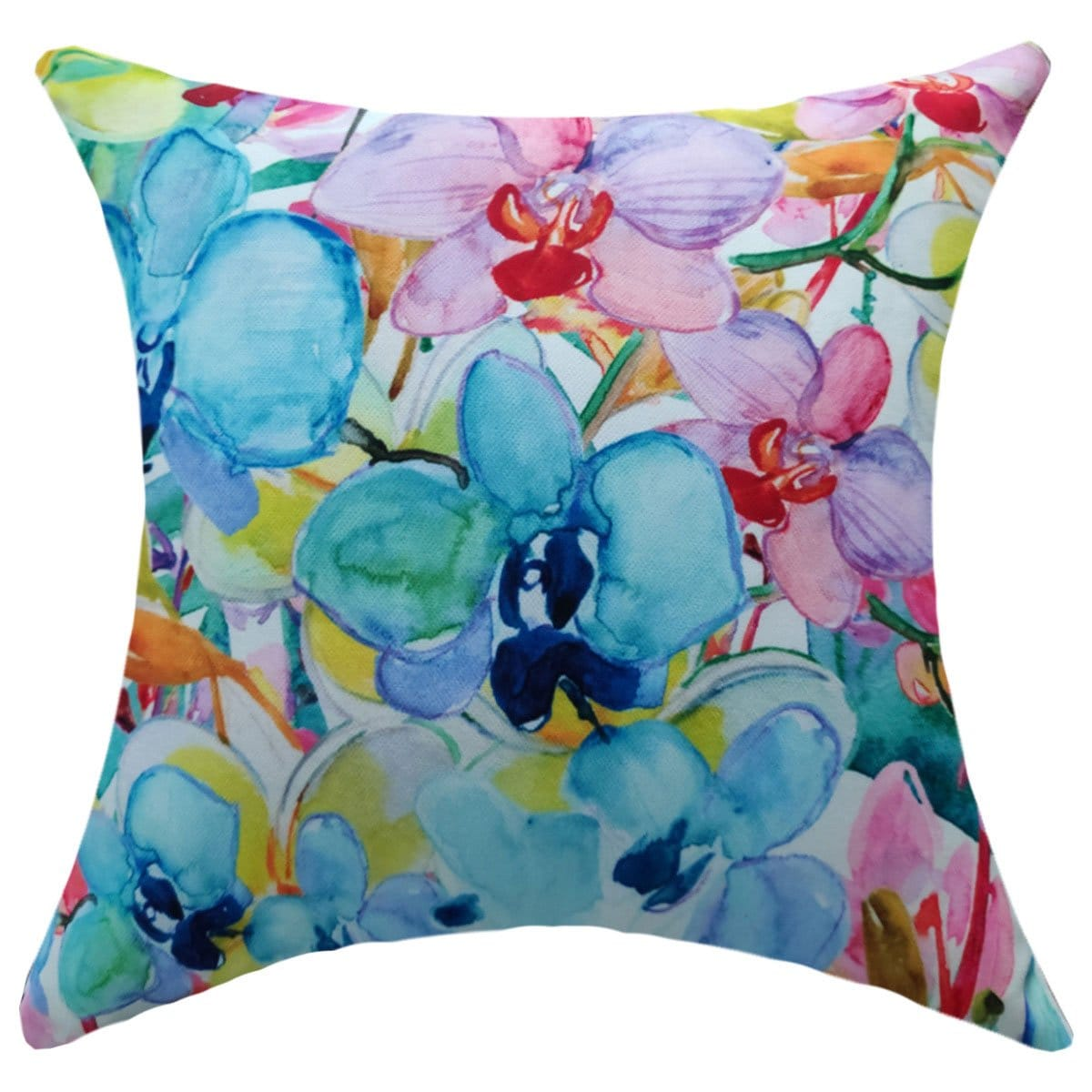 Cojín Decorativo Impreso Hawai Multicolor 0.45X0.45 Abbie